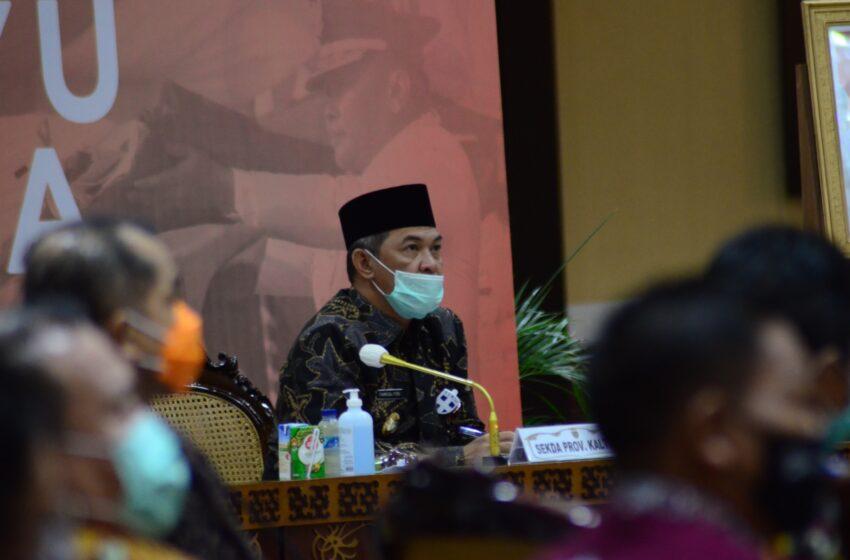 Pemprov Kalteng Dorong Penyusunan APBD 2021 Befokus Pada Pemulihan Dampak COVID-19