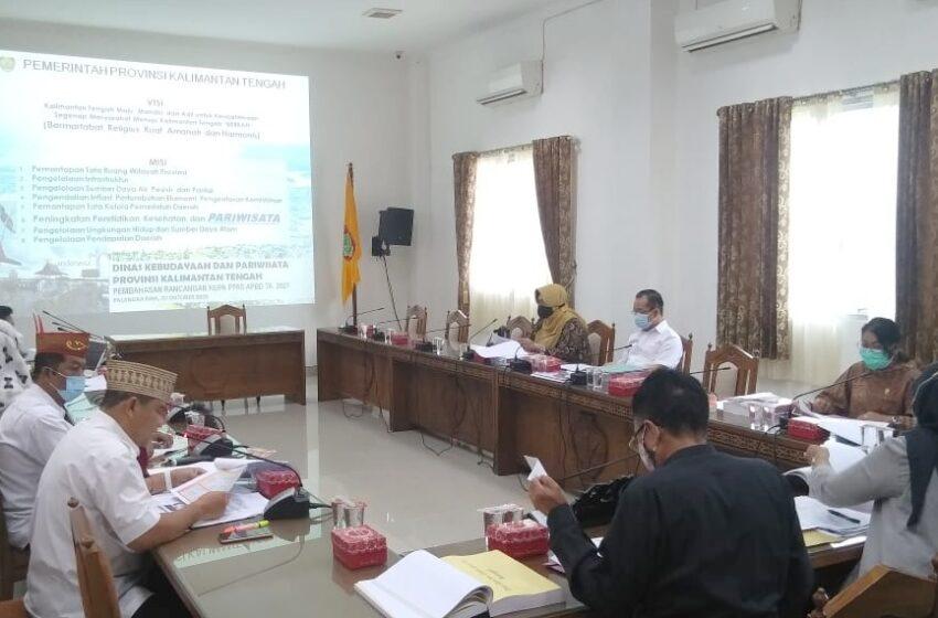 Bangkitkan Kembali Sektor Pariwisata, DPRD Bersama Disbudpar Kalteng Gelar Pembahasan