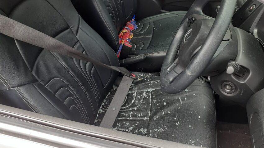 Pecah Kaca Mobil, Dua Pelaku Gasak Uang Receh Dua Ribuan