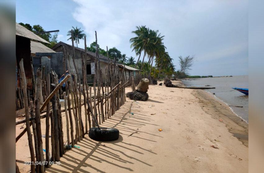 Warga Desa Keraya Butuhkan Pembangunan Pengaman Pantai
