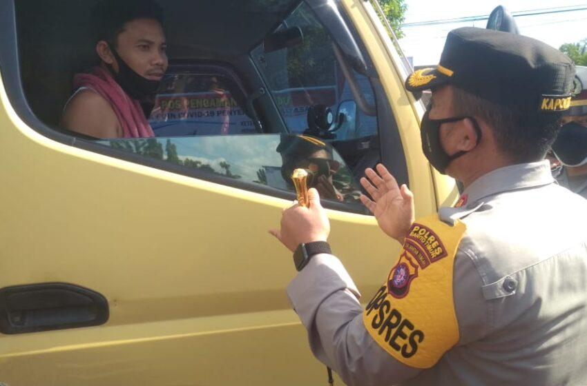Di Bartim, Puluhan Kendaraan Dipaksa Putar Balik