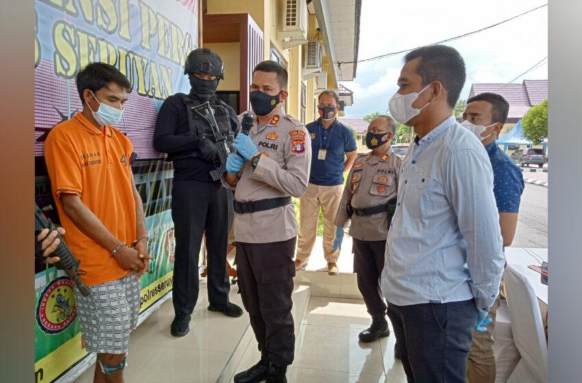 Pelaku Pembacok Polisi Berhasil Ditangkap
