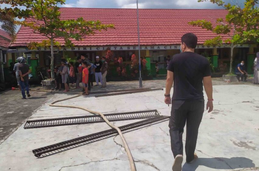 Terkait Kebakaran Sekolah, Disdik Kotim Segera Ambil Kebijakan