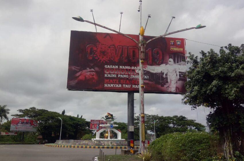 Pakai Bahasa Daerah Lain, Baliho Covid-19 Tuai Kontroversi