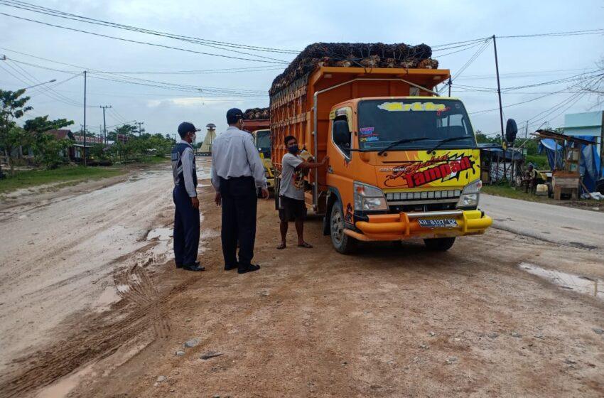 Gubernur Kalteng Instruksi Tertibkan Angkutan ODOL