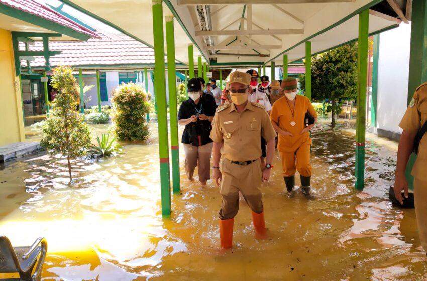 Terendam Banjir, Pasien RSUD Mas Amsyar Kasongan Dialihkan ke Hotel
