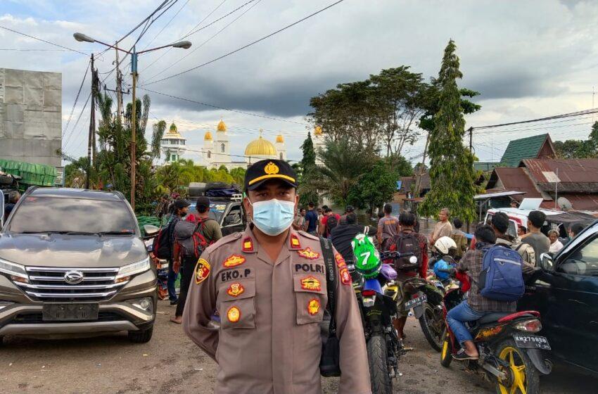 Tarif Angkutan Getek Dikeluhkan, Polisi Turun Tangan