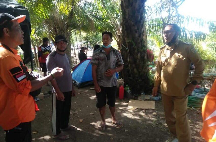 Sunardi N.T Litang Pantau Langsung Kondisi Pengungsi Banjir di Kamipang