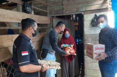 Peduli Warga Kurang Mampu, Polres Pulpis Berikan Bantuan