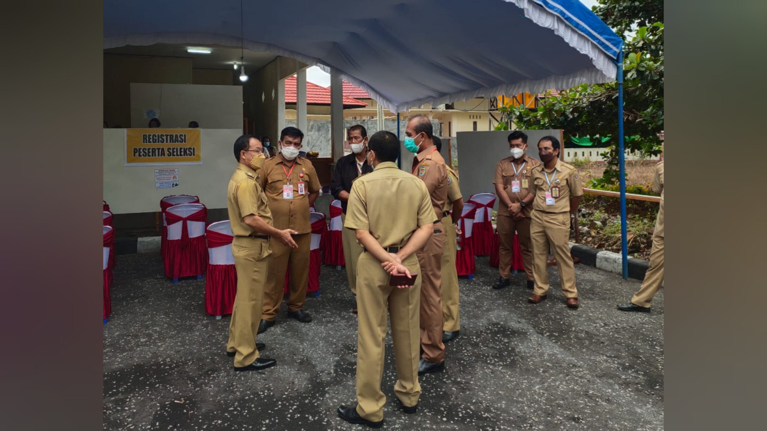 Sebanyak 2.907 Peserta Ikuti Tes CPNS dan PPPK di Katingan
